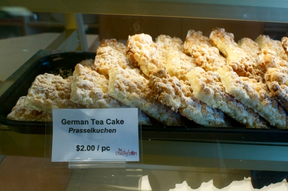 German Tea Cake (Prasselkuchen)